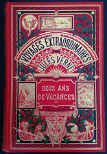 Deux Ans de Vacances / Jules Verne - Hetzel Un Eléphant
