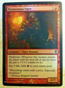 Foil Treasonous Ogre - Mystery Booster - Magic: The Gathering