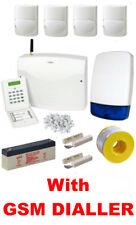 Intruder Burglar Alarm PROFESSIONAL Kit LCD, QUAD Pet Friendly PIRs, GSM Dialler