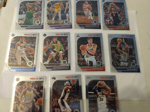 2019-20 Panini NBA Hoops Premium Stock Basketball Cards Lot of 11