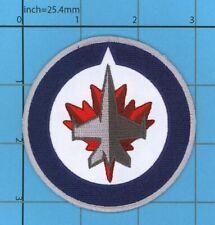 VINTAGE Winnipeg Jets Patch ICE HOCKEY Canada Thrashers Manitoba CF18 BADGE
