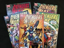 Avengers Next (2007) No. 1 – 5 (of 5 – Complete Set)