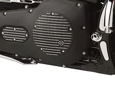 Harley OEM Original Black Fined  Derby Cover Twin Cam Dyna Touring Softail