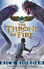The Kane Chronicles: The Throne of Fire by Rick Riordan | Paperback Book | 97801