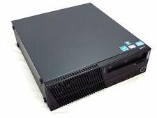Lenovo M91p SFF Desktop i5-2400 Quad-Core 3.1Ghz 4GB RAM 200GB DVDRW Win10 Pro