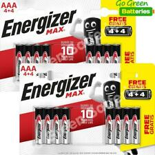 16 x Energizer AAA MAX Alkaline Batteries - LR03 MX2400 MN2400 MICRO