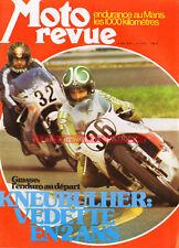 MOTO REVUE 2176 HONDA CB 750 Four Chopper PINK FLOYD Tour de France Le Mans 1974