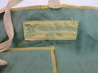 Vintage Shreve Crump & Low Boston Anti Tarnish 6-Slot Roll Pouch 6 1/2 x 8 3/4