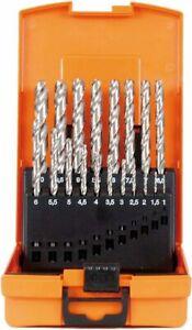 Projahn Spiralbohrer Kassette HSSG DIN 338 TYP N 19 tlg. 1-10mm 67315