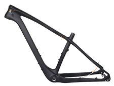 "20.5"" 26er Carbon Fat Bike Frame Snow Beach Bicycle Disc brake MTB UD Matt XL"