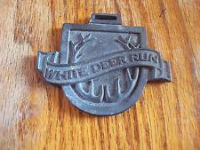 (1) White Deer Run Golf Course Logo Cast Emblem (Illinois)