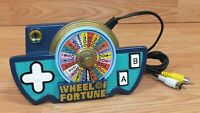 Genuine Jakks Pacific Wheel of Fortune Plug and Play TV Game **READ**