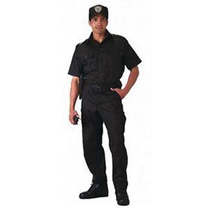Rothco 30205 Black Short Sleeve Tactical Shirt
