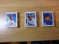 (3) Diff. 1990 Upper Deck Baseball Team Sets- Rangers, Mariners, Reds