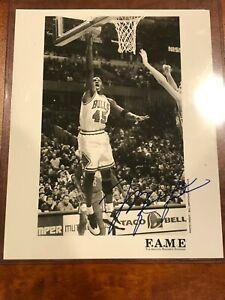 1995 NBA Michael Jordan Chicago Bulls Original Photo F.A.M.E & Fleer #29 Card