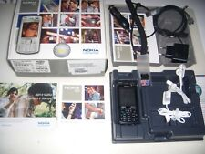 NOKIA N70 TOTAL BLACK EDITION ORIGINALE + SCATOLA ACCESSORI COMPLETI MEMORIA 1GB