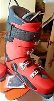 GARMONT Mondo Point Size 28 Delirium  FR 130+ Alpine Mens Red Touring Ski Boots