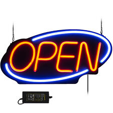 "Big Horizontal Neon Open Sign Light Opening Restaurant Bar Light 23.6""X11.8"""