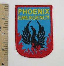 PHOENIX EMERGENCY PATCH Vintage Original