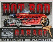BAR / GARAGE / MEMORABILIA SIGN (HOT ROD GARAGE) - MSI-1626