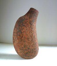 Geoffrey Eastop grès Studio pottery vase. 32 cm forme organique