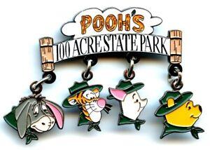 Walt Disney World Pooh's 100 Acre State Park Dangle Pin (Rare)
