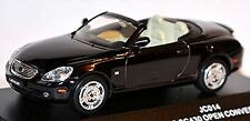 Lexus SC430 Open Convertible 2ª Generación 2001-06 rojo oscuro blackish red 1:43