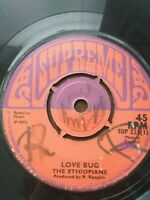 "The Ethiopians-Love Bug/Sounds Of Forefathers 7"" Vinyl Single 1971 UK COPY"