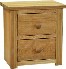 Contemporary Oak 51cm-55cm Height Bedside Tables & Cabinets