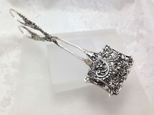 Vintage 800 Sterling Silver Scissor Serving Tong Cake Pie  1950's Germany