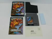 Gunnac Nintendo NES Game Complete in Box Tested 1 Owner Gun Nac Authentic