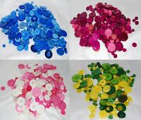 Various Buttons - Choice of Colours, Mixes & Weights- For Sewing & Embellishment