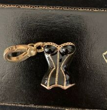 2006 Juicy Couture HTF Black Corset Charm
