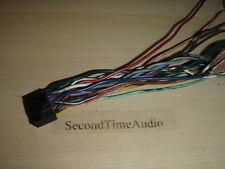 Original OEM JVC KD-AVX11 Wire Harness- Tested Good Guaranteed!
