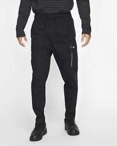 Nike Sportswear Woven Cargo Pants Black Large