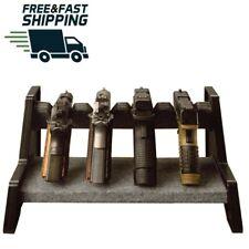 Pistol Display Stand Revolver Gun Safe Rack Accessories Storage Solutions Shelf