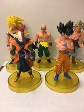 "Dragon Ball Z 5"" Lot Of 5 Figures"