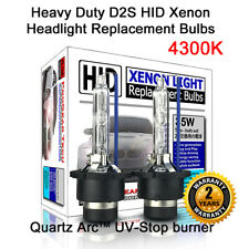 4300K Heavy Duty D2S D2R OEM HID Xenon Replacement Bulb Headlight Low High Beam