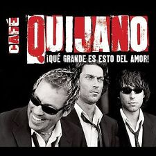 Que Grande Es Esto del Amor! by Café Quijano (CD, Apr-2004, WEA Latina) NEW