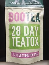 100% Genuine Brand New Bootea- Cheap 28 Days Worth Only Bedtime Tea (14 Teabags)