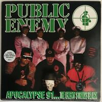 PUBLIC ENEMY APOCALYPSE 91 THE ENEMY STRIKES BACK 2 LP DEF JAM 1991 NEAR MINT
