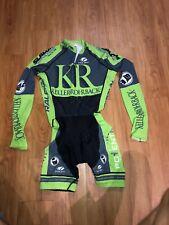 Voler Cycling Skin Suit Keller Rohrback Mens XS Long Sleeve