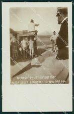 Militari 25º Reggimento Fanteria Festa 1904 Torino ? Foto cartolina XF4678