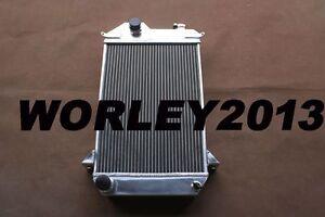 56 mm aluminum radiator for TRIUMPH TR4 2.0 1961 1962 1963 1964 1965 manual