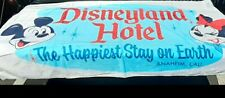 New Disney Parks large beach towel Disneyland Hotel happiest place stay on earth