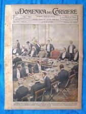 La Domenica del Corriere 16 gennaio 1921 Pershing,Hoover - Londra - Fiume