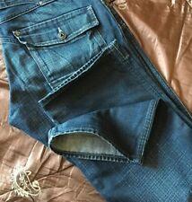 Superb G-Star 5620 Heritage Loose Deep Indigo Denim Jeans. 32W x 32L. (T723)