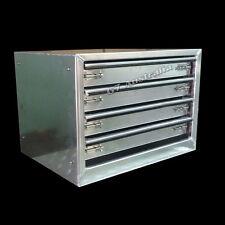 Aluminium 4 Drawer Unit 680x520x520  toolbox tool storage b