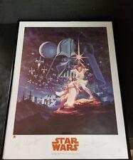 "Star Wars Greg & Tim Hildebrandt Signed Dynamic Forces 18""x24"" Print W/COA"