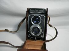 Old Vintage Roleicord 3.5 Camera w/Case Xenar Heidosmat Germany Part or Repair